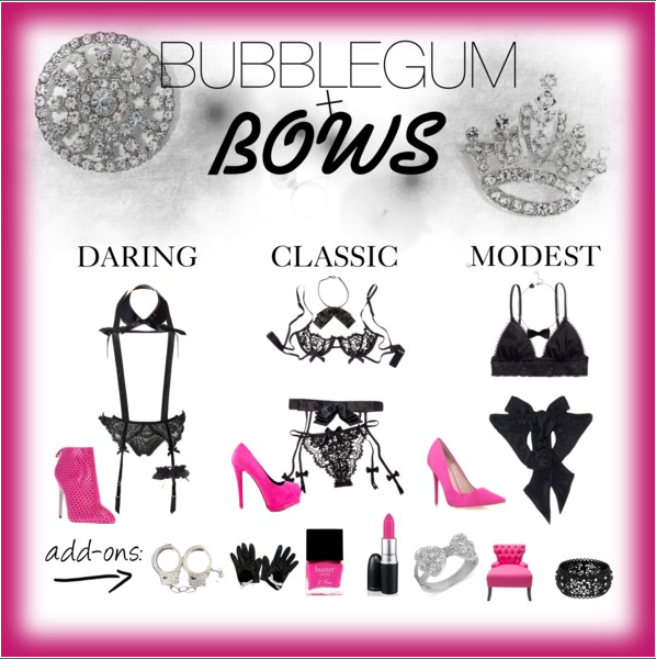 Fashionista Friday: Bubblegum and Bows