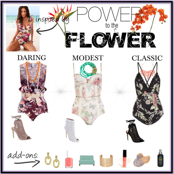 Fashionista Friday: Power to the Flower