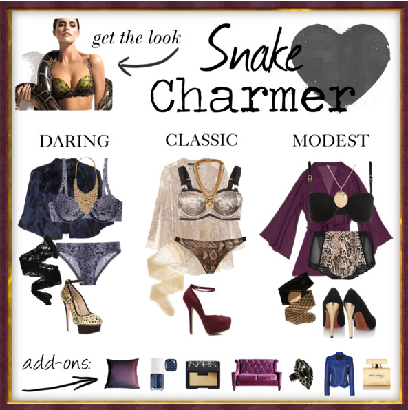 Fashionista Friday: Snake Charmer