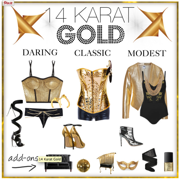Fashionista Friday: 14 Karat Gold