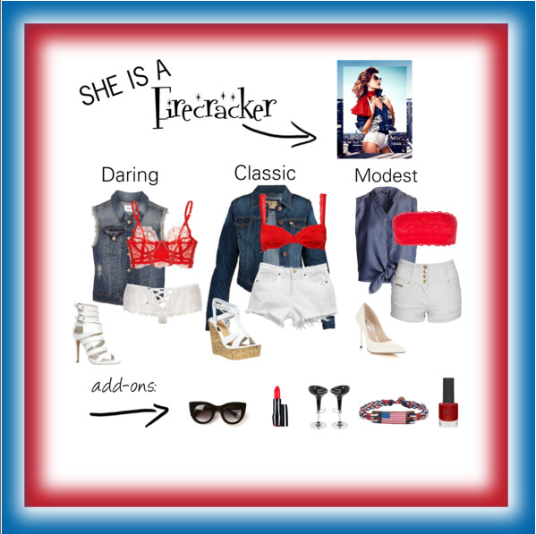 Fashionista Friday: She is a Firecracker