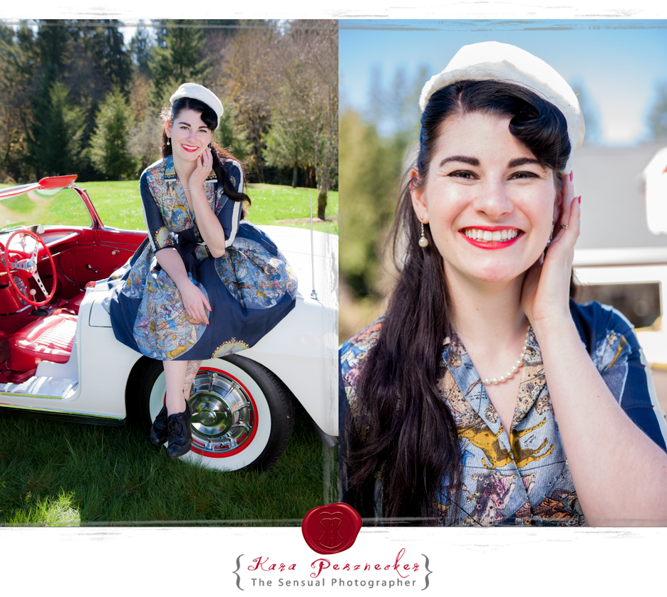 The Sensual Photographer | Pin-up model Catt Le Chappelle