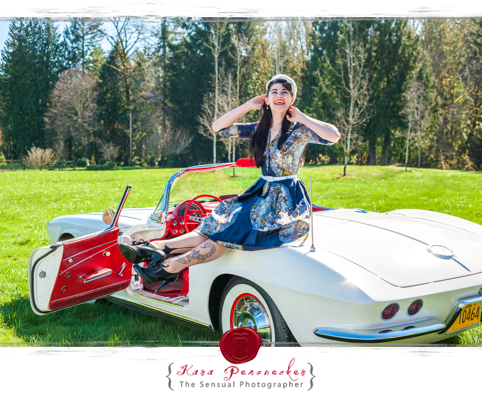 The Sensual Photographer   Pin-up model Catt Le Chappelle