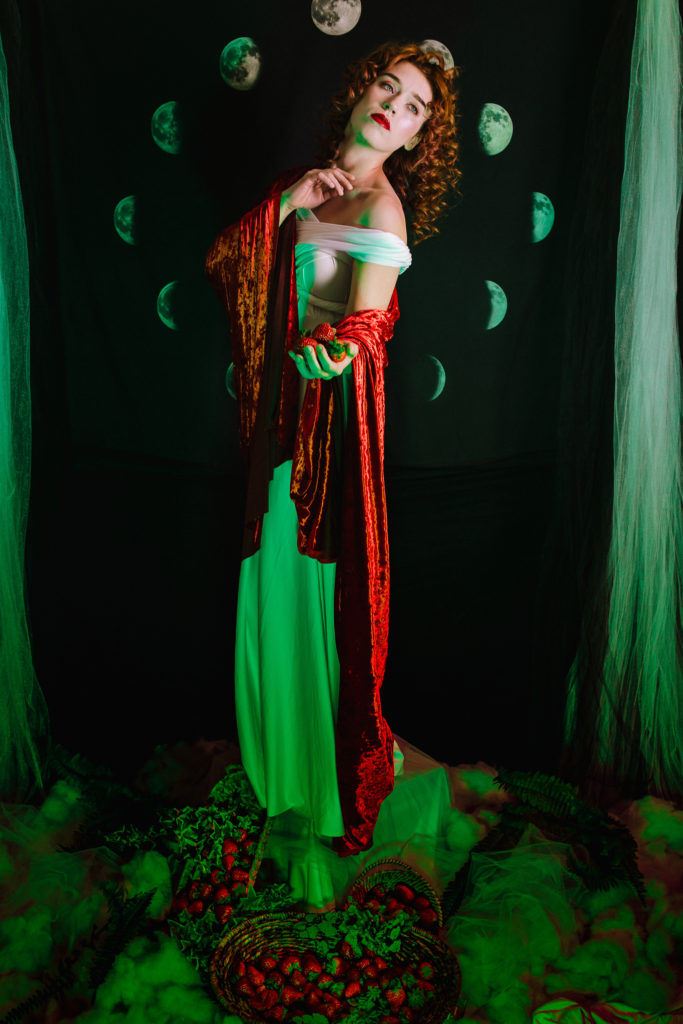 Strawberry Moon Goddess by The Sensual Photographer